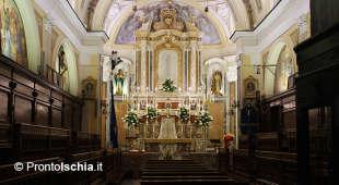 Piccola chiesa a fianco la Collegiata dello Spirito Santo a Ischia Ponte.