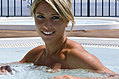 Vasche idromassaggio con acqua dolce vista stupenda.